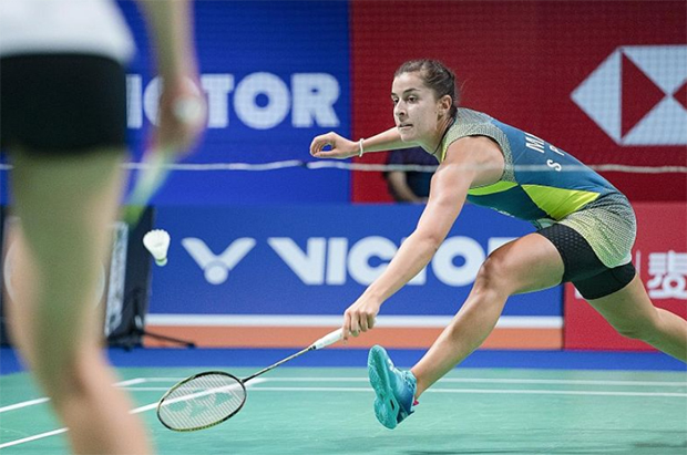 Carolina Marin roars into Denmark Open semi-final. (photo: EPA-EFE)