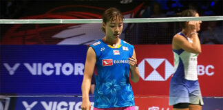 Nozomi Okuhara beats Carolina Marin in Denmark Open final to end two-year title drought.