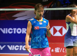 Nozomi Okuhara beats Carolina Marin in Denmark Open final to end two-year title drought.