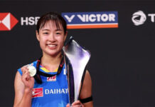 Congratulations to Nozomi Okuhara for winning the 2020 Denmark Open. (photo: BWF)