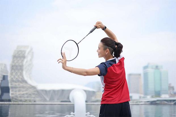 Kung-Fu Badminton from Tai Tzu Ying. (photo: Kaohsiung Tourism Bureau)
