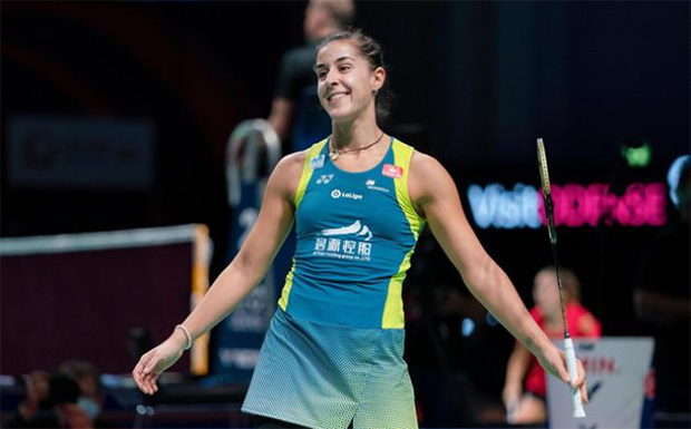 Carolina Marin is a heavy favorite to win the 2020 SaarLorLux Open. (photo: Reuters)