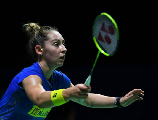 Kirsty Gilmour enters the SaarLorLux Open final. (photo: Robertus Pudyanto/Getty Images)