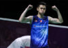 Lee Zii Jia determined to make his mark at the two HSBC BWF World Tour Super 1000 tournaments and the 2020 HSBC BWF World Tour Finals. (photo: Shi Tang/Getty Images)