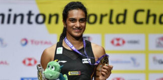 PV Sindhu is ready to get back to badminton court. (photo: AFP)