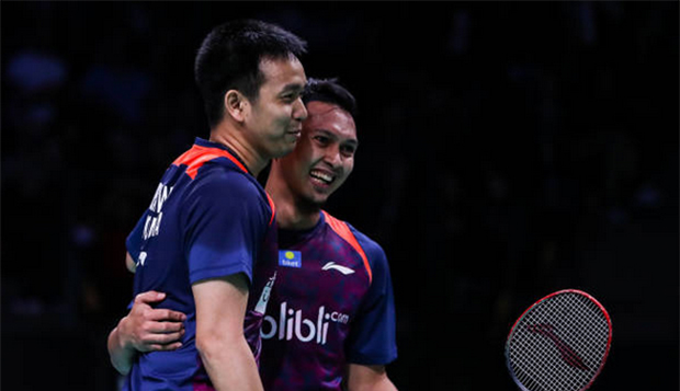 Hendra Setiawan/Mohammad Ahsan are role models everyone should look up to. (photo: AFP)