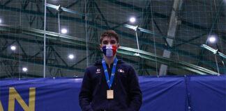 Christo Popov wins the 2020 European Junior Championships. (photo: Badminton Europe)
