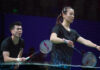 Zheng Siwei/Huang Yaqiong are favorites to win the 2020 Chinese National Badminton Championships mixed doubles title. (photo: Weibo)