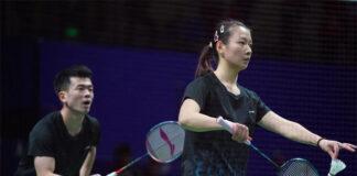 Zheng Siwei/Huang Yaqiong are favorites to win the 2020 Chinese National Badminton Championships mixed doubles title. (photo: Weibo)