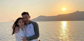 Happy Anniversary to Lee Chong Wei and Wong Mew Choo! (photo: Lee Chong Wei's Facebook)