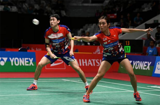 Tan Kian Meng/Lai Pei Jing Take Aim at BWF World Tour Finals. (photo: Robertus Pudyanto/Getty Images)