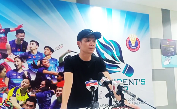 Wong Choong Hann is satisfied with the performance of Malaysia's young badminton players. (photo: BAM)