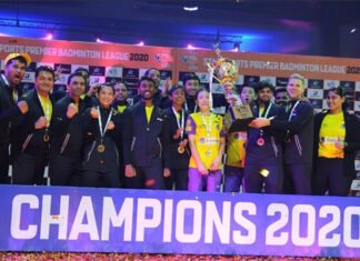 Tai Tzu Ying and Chan Peng Soon were part of the Bengaluru Raptors team that won the 2020 PBL title. (photo: PBL)