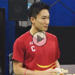 Kento Momota and friends win the MIX & MATCH Badminton Challenge.