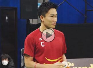 Kento Momota and friends win the MIX & MATCH Badminton Challenge.