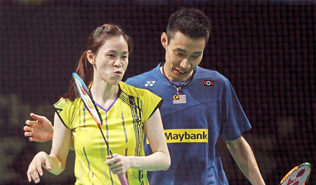 Lee Chong Wei and Wong Mew Choo face delay in return to Mix & Match action. (photo: S.S.KANESAN)
