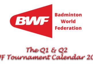 The 2021 BWF Tournament Calendar. (photo, logo, calendar: BWF)