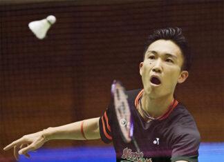Kento Momota enters the semi-final of All-Japan championships. (photo: nikkansports)