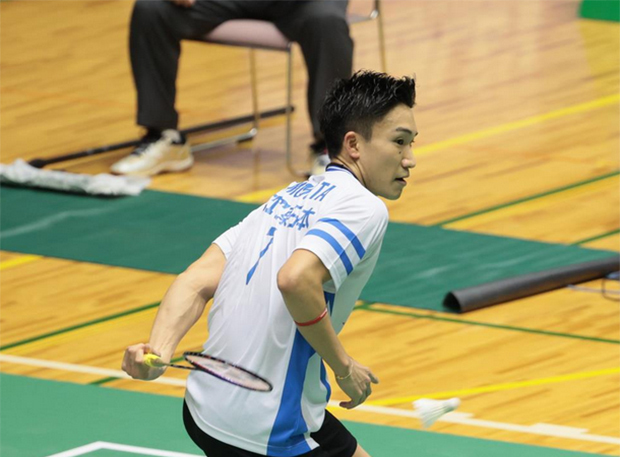 Kento Momota to play Kanta Tsuneyama in All-Japan Championships Final. (photo: sanspo)