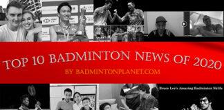 Top 10 Badminton News of 2020