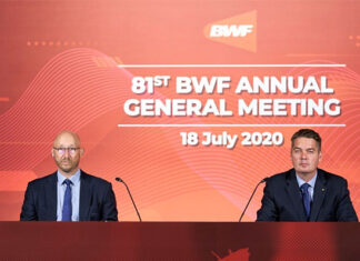 BWF will soon provide a complete 2021 schedule for Tokyo Olympics badminton qualifiers. (photo: BWF)