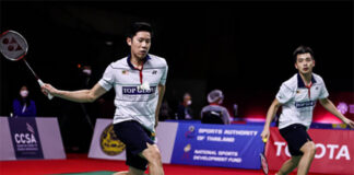 Goh V Shem/Tan Wee Kiong set up rematch vs. Aaron Chia/Soh Wooi Yik at Toyota Thailand Open. (photo: Shi Tang/Getty Images)