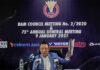 Norza Zakaria Urged BAM Players to be Wary of Match-Fixing after a Malaysian Gets Lifetime Ban. (photo: Bernama)