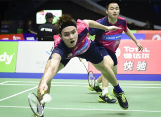 Aaron Chia/Soh Wooi Yik faces a tough battle against Goh V Shem/Tan Wee Kiong in the first round of the YONEX Thailand Open. (photo: AFP)