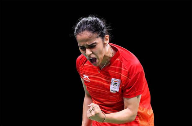 Saina Newah to play Kisona Selvaduray of Malaysia on Wednesday. (photo: Albert Perez/Getty Images)