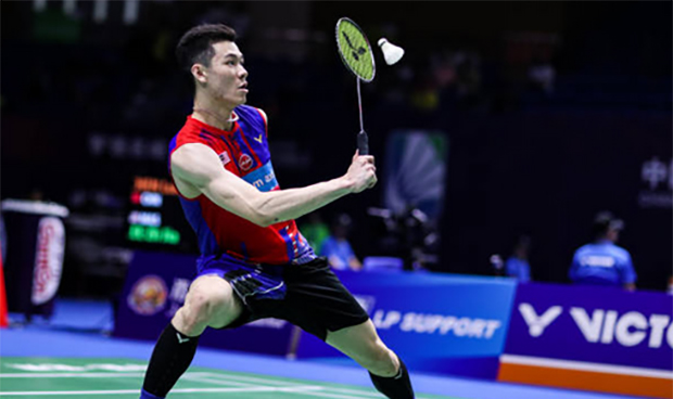 Lee Zii Jia to face a tough battle in the YONEX Thailand Open second round against Kidambi Srikanth. (photo: Shi Tang/Getty Images)