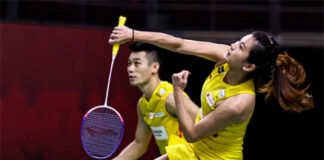 Chan Peng Soon/Goh Liu Ying to face Dechapol Puavaranukroh/Sapsiree Taerattanachai in YONEX Thailand Open quarter-finals. (photo: Shi Tang/Getty Images)