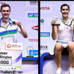 Viktor Axelsen and Carolina Marin win YONEX Thailand Open.(photo: Shi Tang/GettyImages)