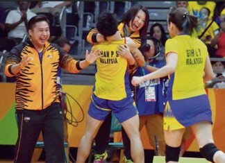 Chan Peng Soon and Goh Liu Ying eager to reunite with Chin Eei Hui. (photo: AFP)