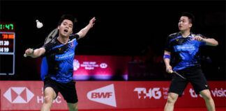 Aaron Chia/Soh Wooi Yik off to a strong start at the 2020 BWF World Tour Finals. (photo: Shi Tang/Getty Images)