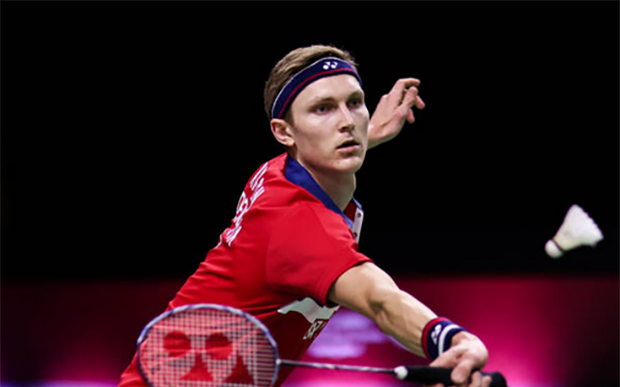 Viktor Axelsen is unstoppable in Bangkok. (photo: Shi Tang/Getty Images)