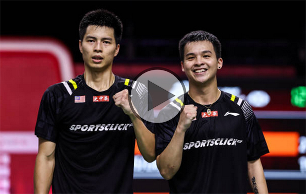 Ong Yew Sin/Teo Ee Yi show strong fighting spirit at the 2020 BWF World Tour Finals. (photo: Shi Tang/Getty Images)