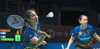Chow Mei Kuan/Lee Meng Yean create huge surprises at the 2020 BWF World Tour Finals. (photo: Bernama)