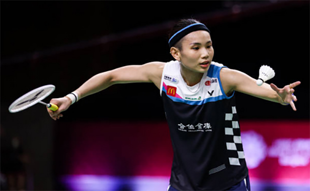 Tai Tzu Ying faces An Se Young in the semi-finals of the 2020 BWF World Tour Finals. (photo: Shi Tang/Getty Images)