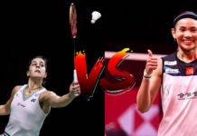 Carolina Marin vs. Tai Tzu-Ying in the final of 2020 BWF World Tour Finals.(photo: Shi Tang/Getty Images)
