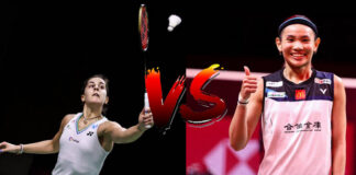 Carolina Marin vs. Tai Tzu-Ying in the final of 2020 BWF World Tour Finals.(photo: Shi Tang/Getty Images)
