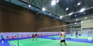 Malaysian badminton team starts training in Bangkok. (photo: BWF)