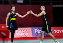Goh Liu Ying/Chan Peng Soon target the 2021 Swiss Open title. (photo: Shi Tang/Getty Images)