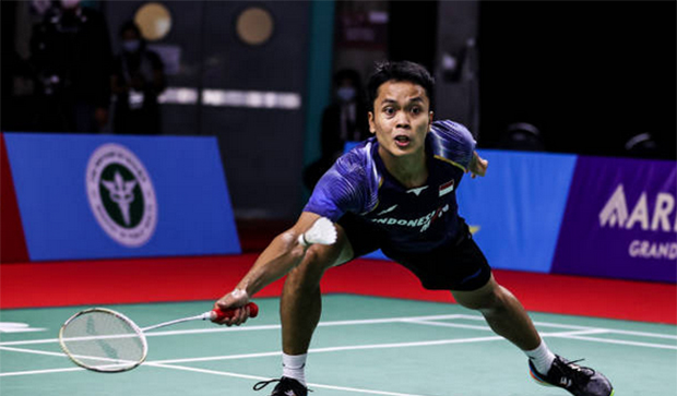 Anthony Sinisuka Ginting to skip Swiss Open. (photo: Shi Tang/Getty Images)
