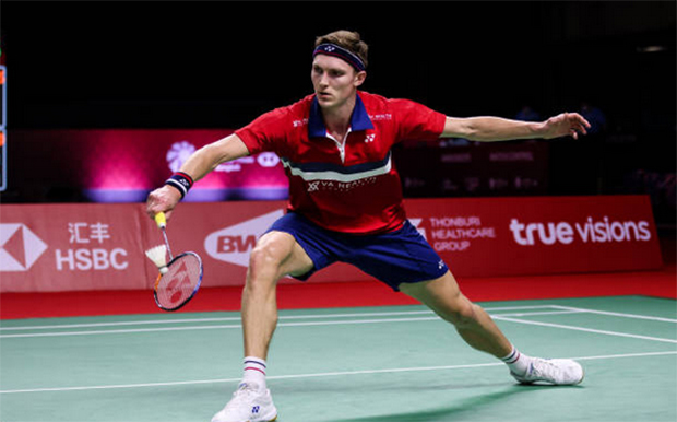 Viktor Axelsen in the top half of the Swiss Open draw. (photo: Shi Tang/Getty Images)