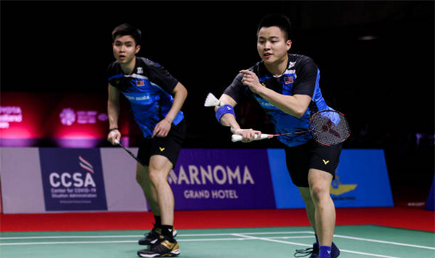 Aaron Chia/Soh Wooi Yik ready for competition at the Swiss Open and the All England. (photo: Shi Tang/ Getty Images)