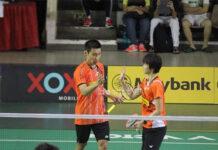 Lee Chong Wei and Vivian Hoo were playing at the 2015 Perak Open. (photo: Howkt/Lee Chong Wei's Facebook)
