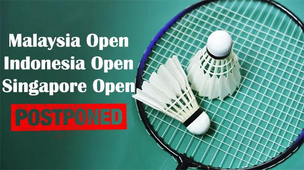 BWF Postpones Malaysia, Indonesia, Singapore Opens & Extends Olympics Qualification Window to June 15.