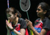 Pearly Tan/Thinaah Muralitharan enter All England second round. (photo: BWF)