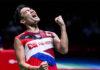 Kento Momota wins 2021 All England first round. (photo: AFP)
