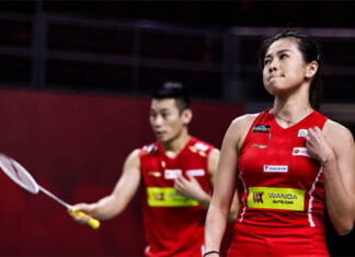 Chan Peng Soon/Goh Liu Ying cruise into 2021 All England quarter-finals. (photo: Shi Tang/Getty Images)